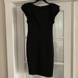 Ted Baker Renii black midi dress 4